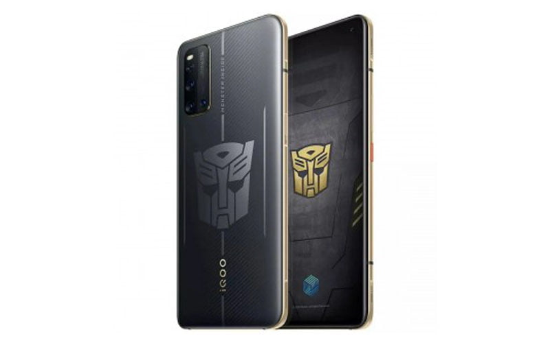 iQOO 3 5G Transformers Limited Edition Unveiled