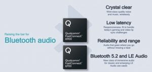 FastConnect Chips from Qualcomm Brings Fast WiFi 6E and BT5.2 with High Res-Audio