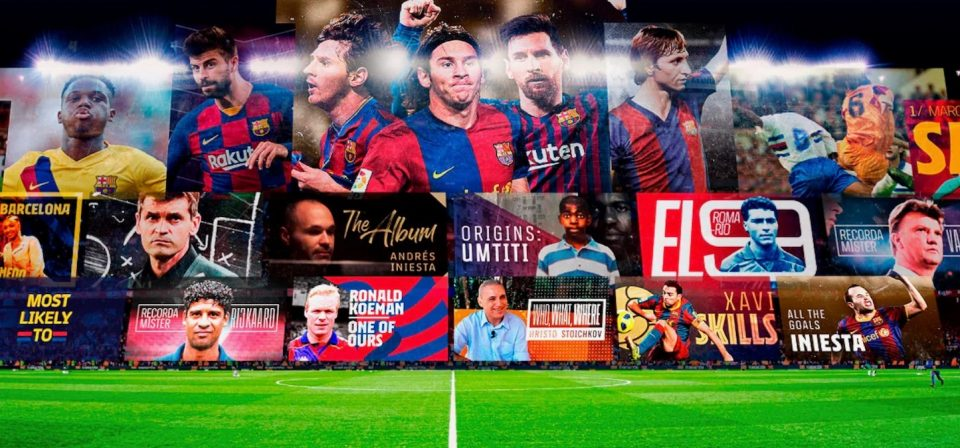 FC Barcelona Unveils Streaming Service