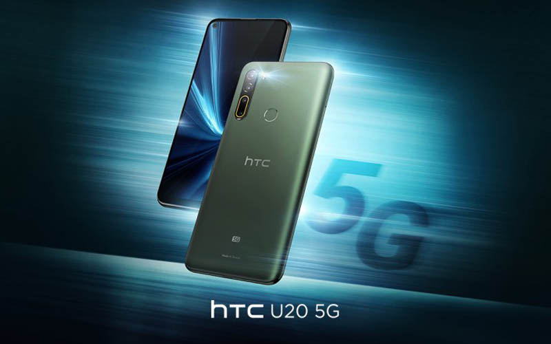 HTC U20 5G Unveiled With 5,000 mAh Battery And More