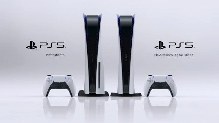PlayStation 5 Goes Official Without Optical Drive