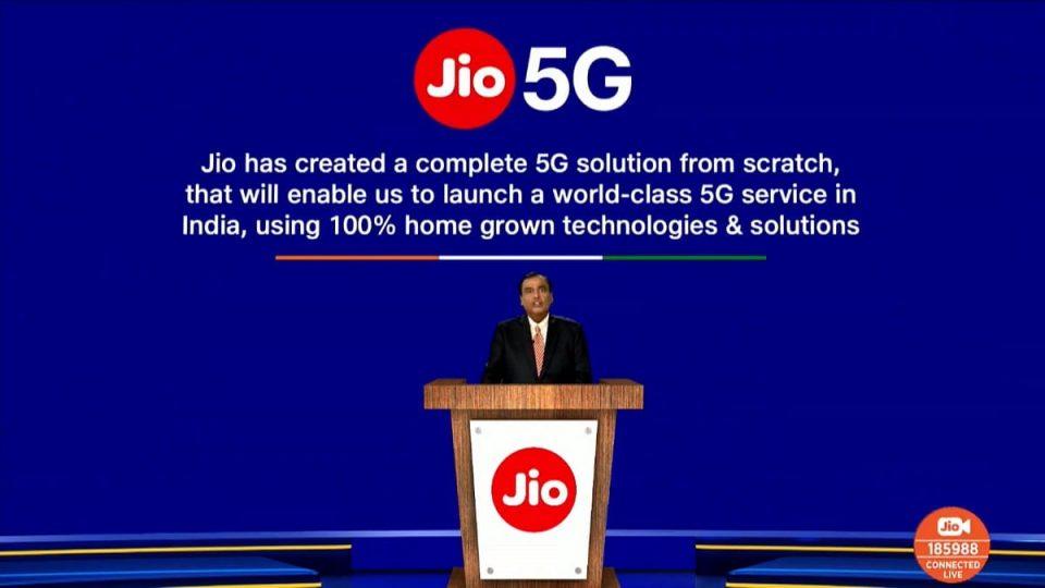 Jio 5G Solution Announced