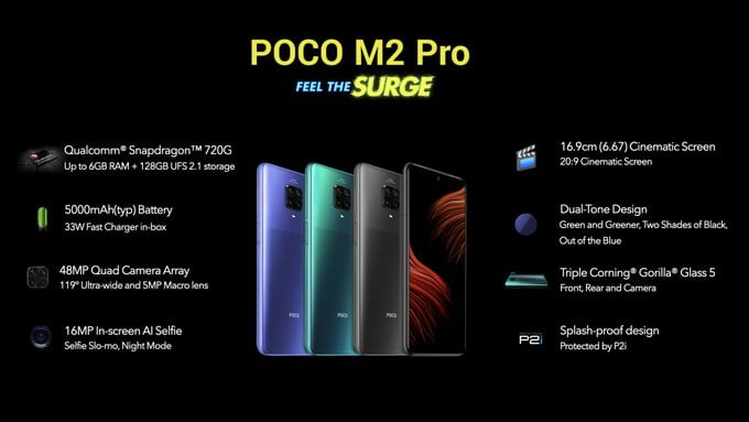 Poco M2 Pro Goes Official In India With Quad Rear Cameras