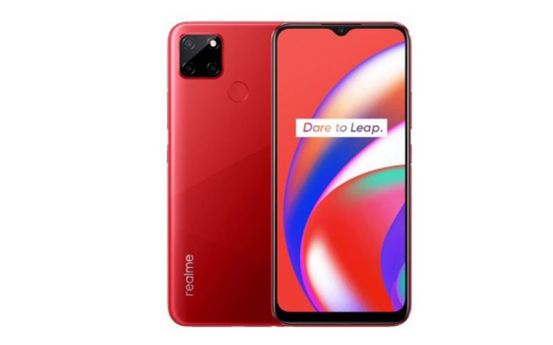 Realme C12 Unveiled With 6,000 mAh Battery
