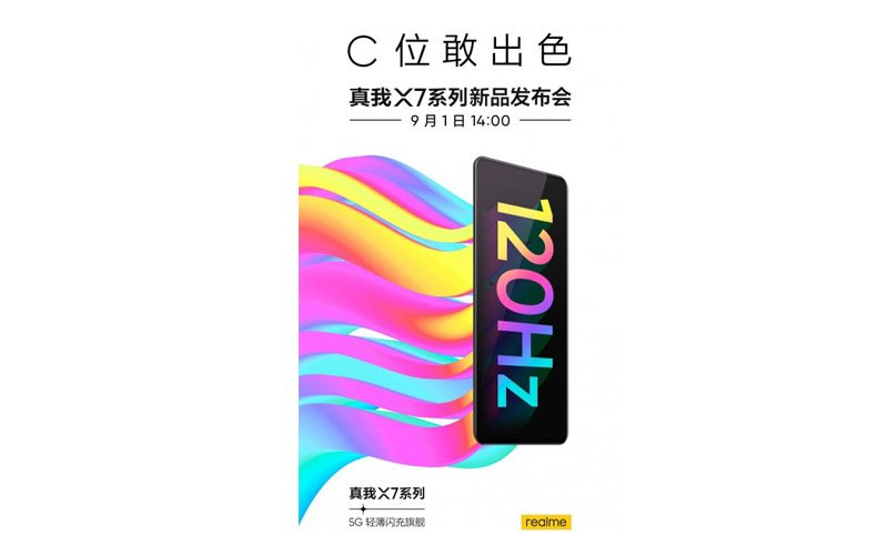 Realme X7 Series Launch Date And Key Specifications Confirmed