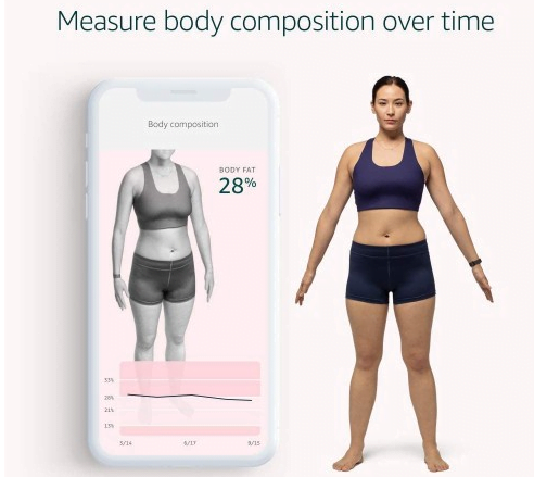 Halo Band from Amazon Can 3D scan your body and Recognize the tone of your voice