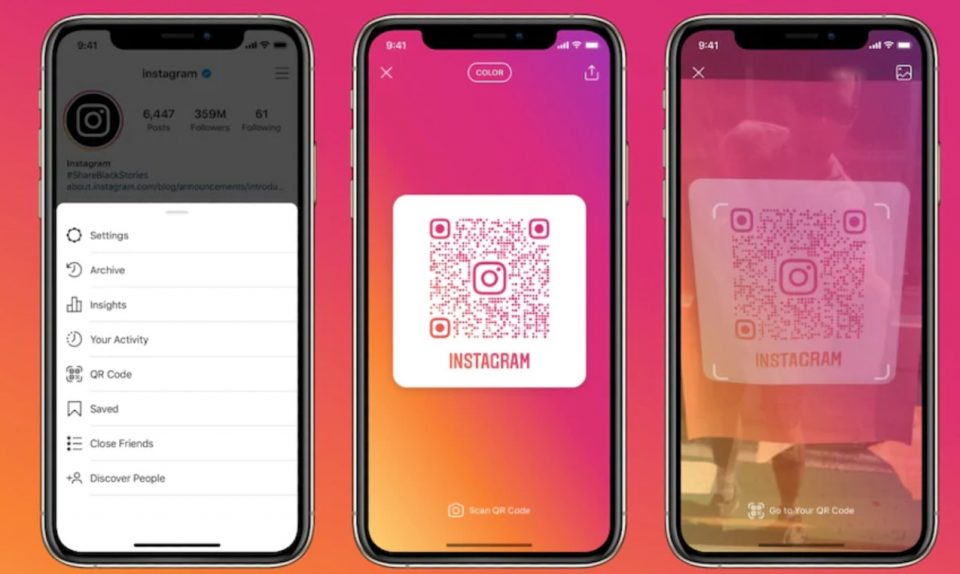 Instagram Now Allows Users to Open Profiles Via QR Codes