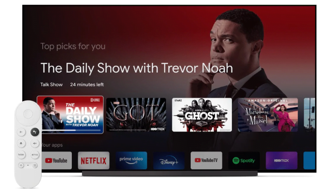 Chromecast with Google TV Launched with a Dedicated Remote