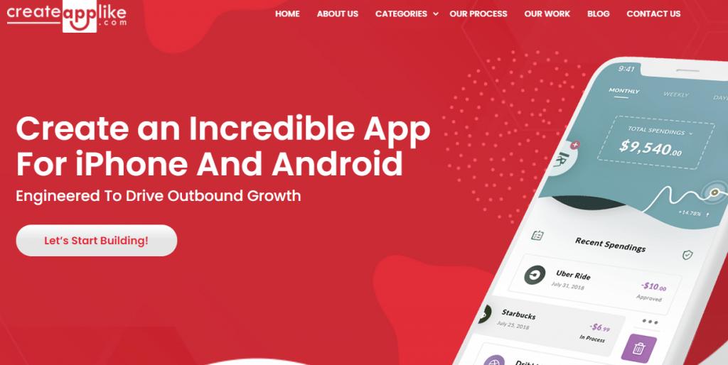 create app like