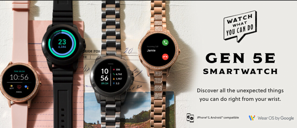 Fossil Gen 5E Unveiled With Qualcomm Snapdragon Wear 3100