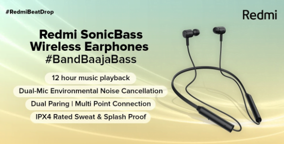 Redmi EarBuds 2C and SonicBass Launched in India