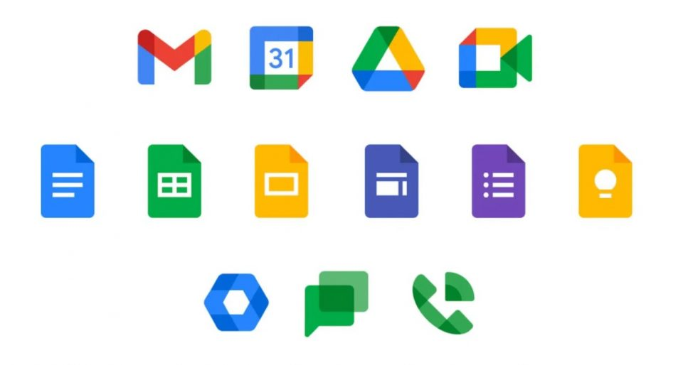 G Suite Becomes Google Workspace with new Icons