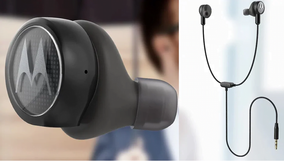 Motorola Tech3 TriX 3-in-1 Hybrid Earphones Launched in India, at Rs. 5,999