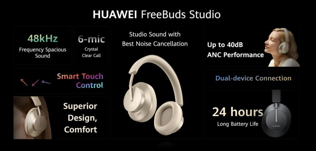 Huawei FreeBuds Studio, Porsche Design Watch GT 2 and Eyewear Launched