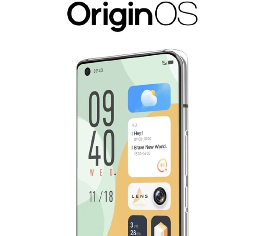 Vivo makes OriginOS Official