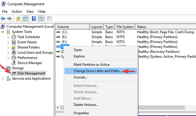 Fix Corrupted Kingston Pen Drive in Windows 10