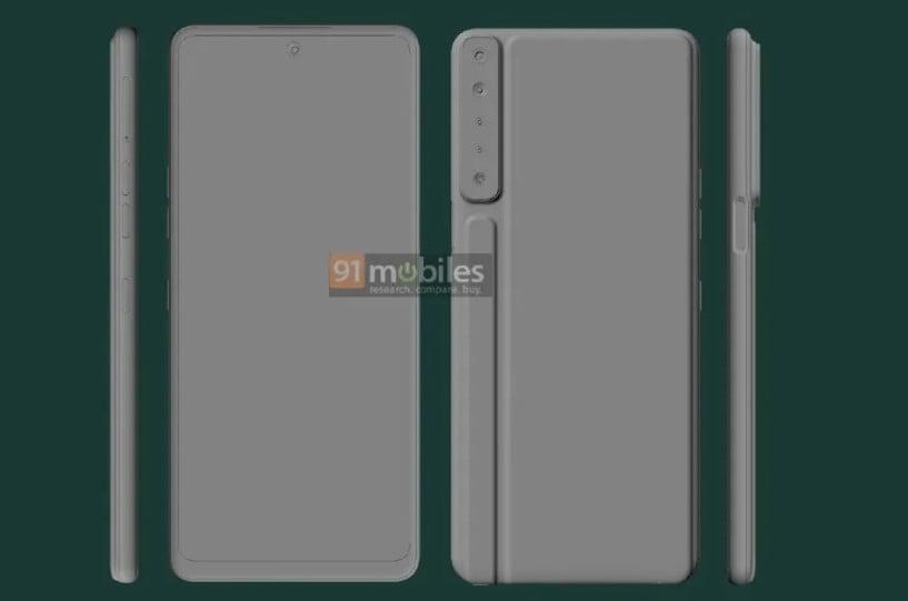LG Stylo 7 CAD-Renders Leaked