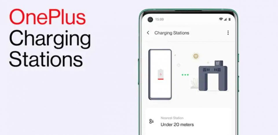 OnePlus Rolls Out Nearby Charging Station
