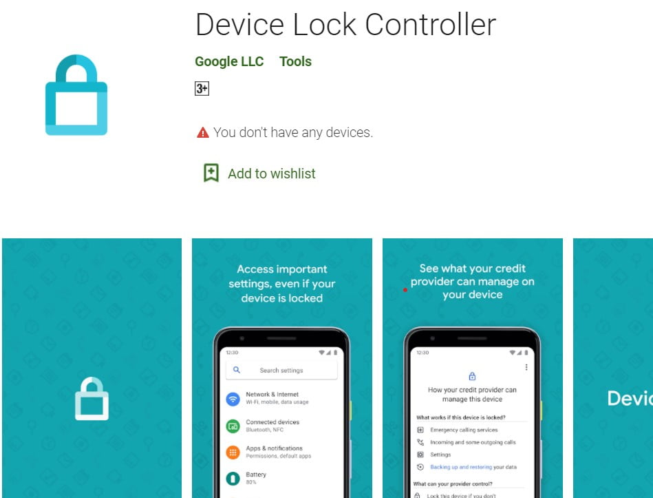 Device Lock Controller App from Google Could Help Carriers Block Your Phone if You Fail to Pay