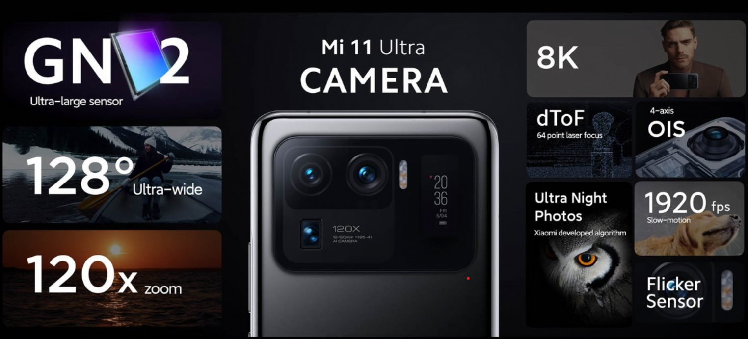 Xiaomi MI 11 Pro and Ultra Unveiled with 66W Charging and 50MP Main Camera
