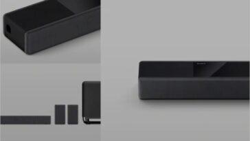 Sony announced HT-A9 Soundbar with 4 wireless speakers, control box.